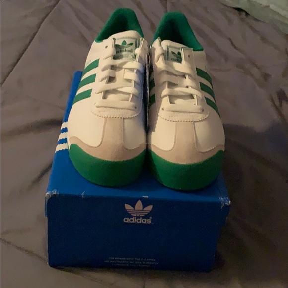 adidas Shoes - *BRAND NEW* Adidas Samoa White & Green